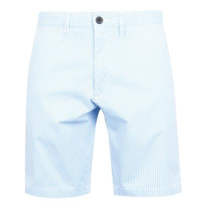 Pantaloni scurti Jack Wills Slim Chino albastru alb