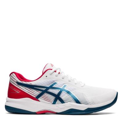Jocuri Adidasi de Tenis Asics Gel 8 pentru Barbati alb albastru