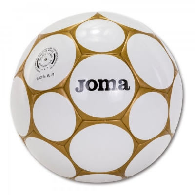 Jocuri Minge fotbal Joma Sala Hybrid alb-gold Size 62 auriu