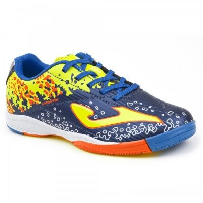 Joma Champion 803 bleumarin-fluor Indoor copii