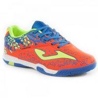 Pantofi fotbal copii Champion Jr 708 Joma Orange Indoor