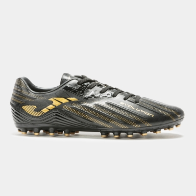 Joma Evolution 2031 negru-gold gazon sintetic
