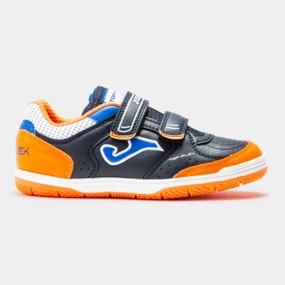 Joma Top Flex 2053 bleumarin-portocaliu Velcro Indoor copii