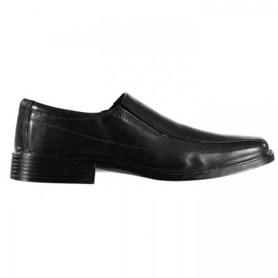 Pantofi fara siret Jonathon Charles Superlight pentru Barbati negru
