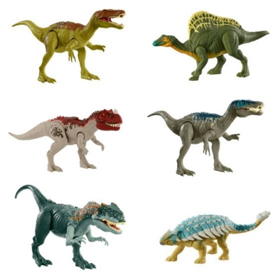Jurassic World Roar Dino 21 multicolor
