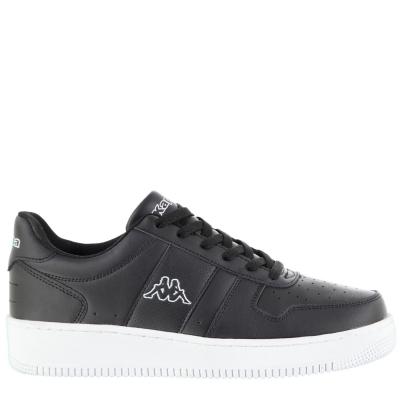 Adidasi sport Kappa La Morra pentru Barbati negru alb