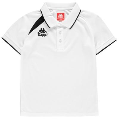 Tricou Kappa Palla alb negru