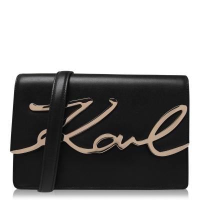 Karl Lagerfeld Karl signature SLDR dama negru auriu