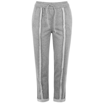 Pantaloni jogging Kendall and Kylie Pull On deschis gri
