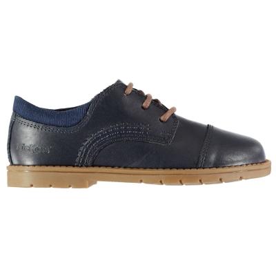 Kickers Orin Derby Shoes pentru Bebelusi albastru