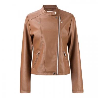 Jacheta Lee Cooper Biker PU pentru Femei