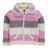 Bluze Jacheta Lee Cooper cu dungi cu captuseala tricot pentru fetite