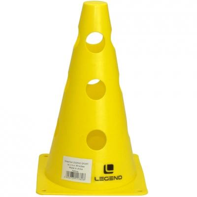 Legend Cone cu gauri 23cm galben