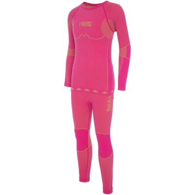 Lenjerie Thermoactive For Viking Riko roz 500-14-3030-48 pentru Copii