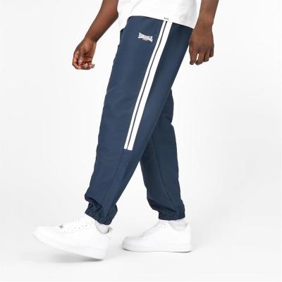 Pantaloni Lonsdale 2 cu dungi CH Woven pentru Barbati bleumarin