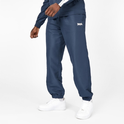 Pantaloni jogging Lonsdale Essential CH Woven pentru Barbati bleumarin