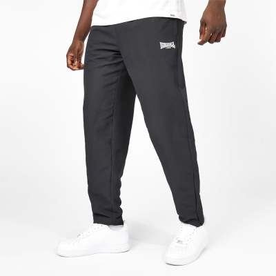 Pantaloni Lonsdale Essential OH Woven pentru Barbati negru