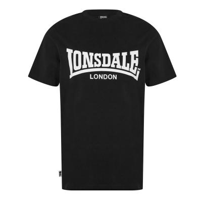 Lonsdale Essentials Logo Tee negru