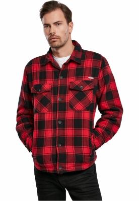 Lumberjacket rosu-negru Brandit