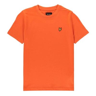 Tricou Lyle and Scott clasic portocaliu