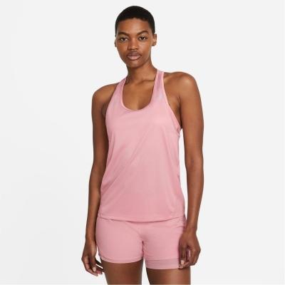 Maiou alergare Nike Miler pentru femei roz glaze refl