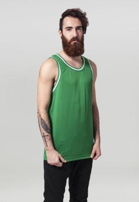 Maiou barbati fitness verde-alb Urban Classics