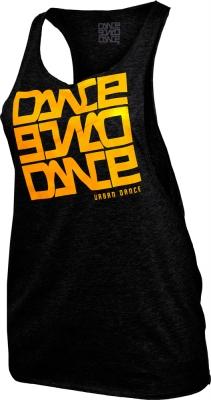 Maiou bumbac sala Dance negru Urban Dance