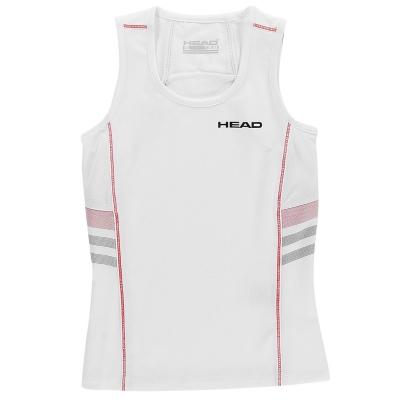 Maiou HEAD Club pentru fete alb rosu