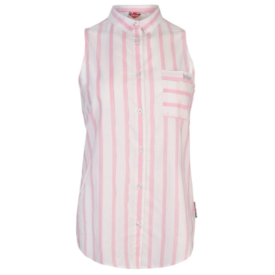 Maiou Lee Cooper pentru Femei alb roz