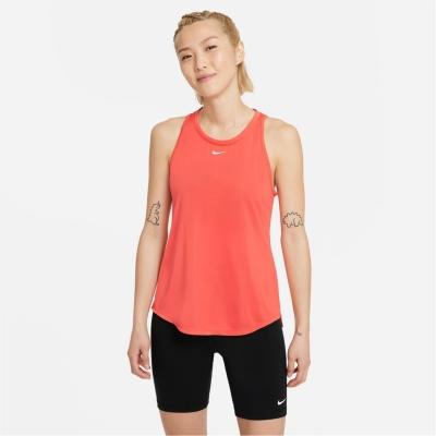 Maiou Nike Dri-FIT One Standard Fit pentru femei magic rosu