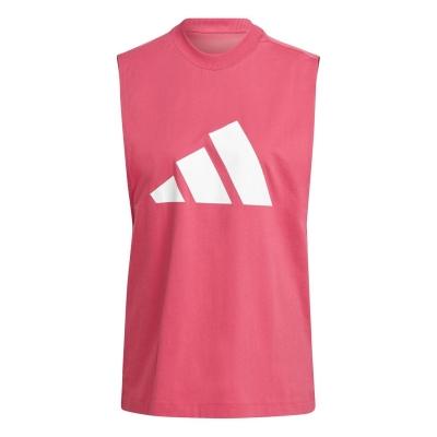 Maiou plasa adidas 3Bar pentru Femei wild roz