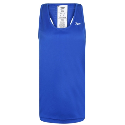 Maiou plasa Reebok Top pentru Femei humble albastru
