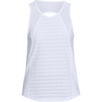 Maiou plasa Under Armour Balance Top pentru Femei alb