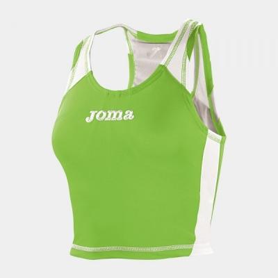 Maiou sport dama Joma Record verde Fluor pentru Femei