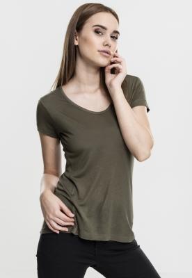 Maiou vascoza simplu pentru Femei oliv Urban Classics
