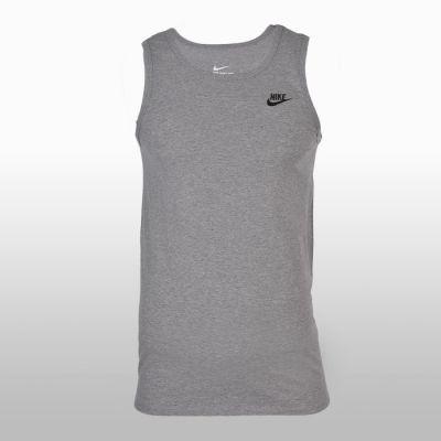 Maiou sport bumbac Nike M Nsw Tank Club Embrd Ftra Barbati