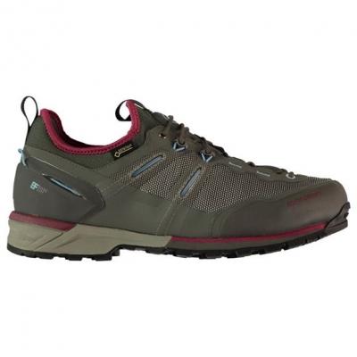 Mammut Alnasca tricot GTX Shoes pentru Femei grahphite rosu