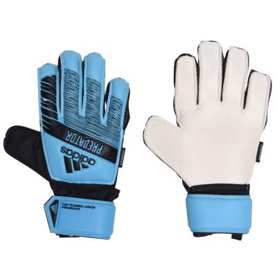 Manusi adidas Top antrenament Fingersave Unisex Juniors albastru