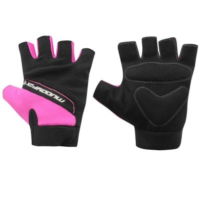 Manusi ciclism Muddyfox negru roz