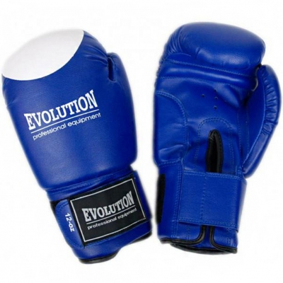 Manusi de box Evolution Synthetic Boxing Pro RB-2110 albastru