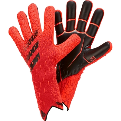 Manusi de Portar adidas Predator Pro rosu negru