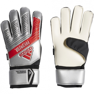Manusi Portar Adidas Prosuator Top antrenament FS Silver rosu DY2608 barbati teamwear adidas teamwear