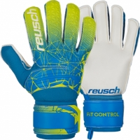 Manusi Portar Reusch Fit Control SD galben-albastru 3970515 888