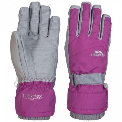 Manusi ski femei Vizza II  Purple Trespass