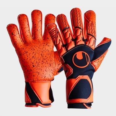 Manusi de Portar Uhlsport Next Level bleumarin fosforescent rosu