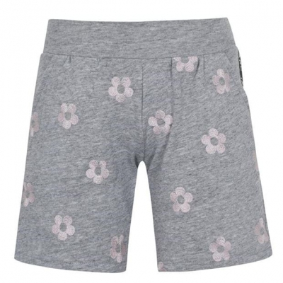 Pantaloni scurti MARC JACOBS Flower chine gri a35
