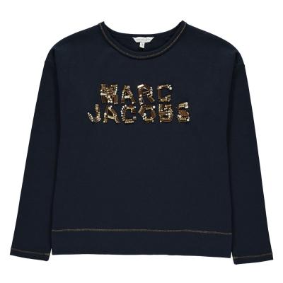 Tricou cu imprimeu MARC JACOBS Sequin pentru fete pentru Copii