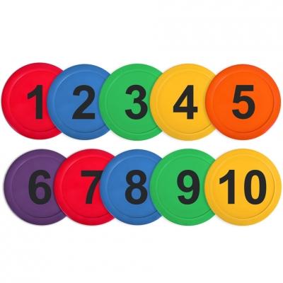 Marcaj sala Round NO10 kpl 10szt VRBS-1T010