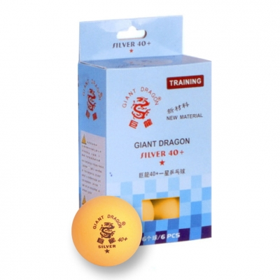 Minge ping pong SMJ Silver Star 6 portocaliu 8341 copii
