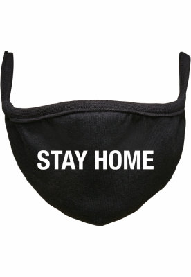 Masca fashion protectie Stay Acasa negru Mister Tee
